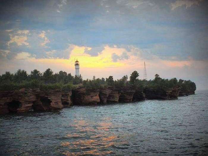 9. We all know the Apostle Islands are gorgeous, as Kristen has captured.