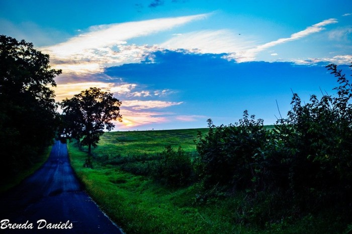 10. Who doesn't appreciate the simplicity of a Wisconsin country road?