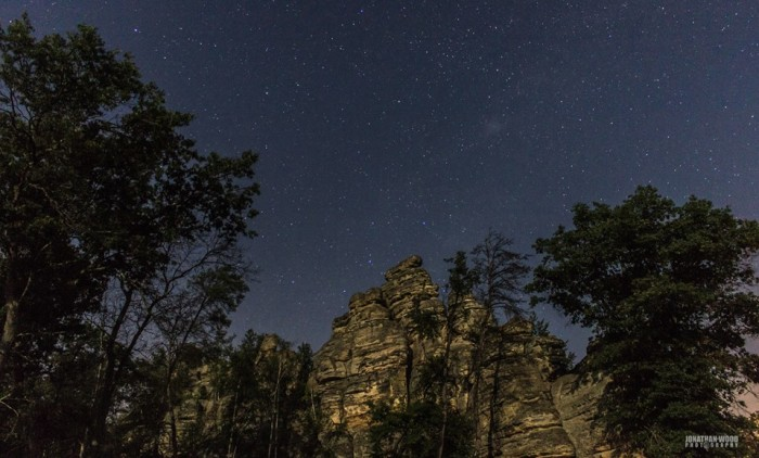 11. Jonathan reminded us that Wisconsin really is the best place to gaze up at the stars.