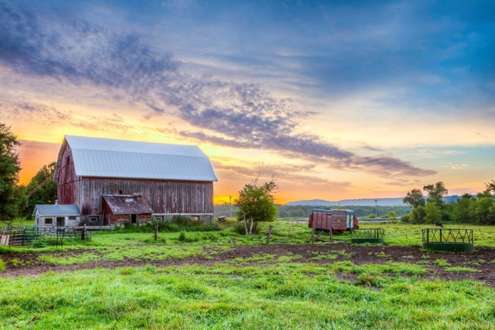 13. Matthew took this great shot of his parents' farm in Sparta, Wisconsin.