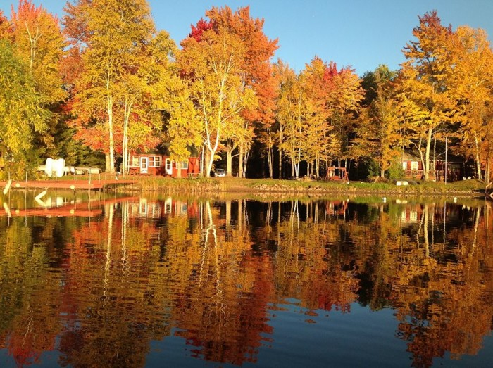 16. Okay, can you name anywhere in the country where fall is more beautiful than right here in Wisconsin?