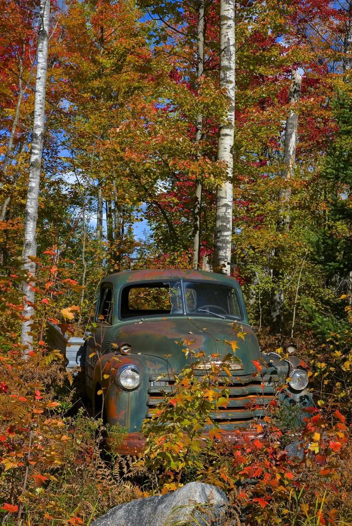 10. Old truck in Rhinelander