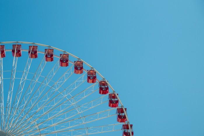 3. Ferris Wheel, Navy Pier