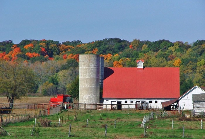 9. Farm near Congerville