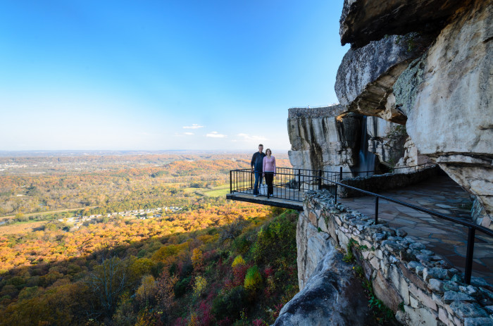 1) Lookout Mountain - Rock City