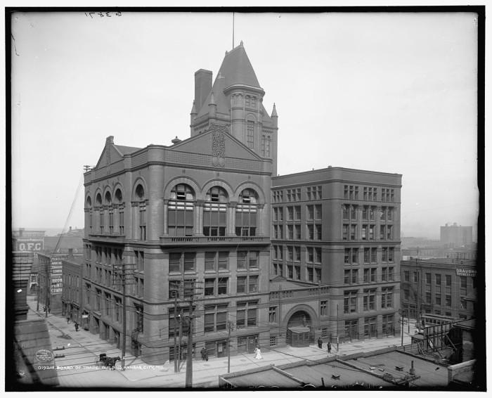 1.Board of Trade Building, Kansas City, circa 1906.