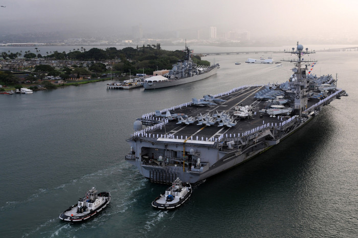 10) And who knows what type of trouble America would be in if its military didn't have a strong presence in the middle of the Pacific.