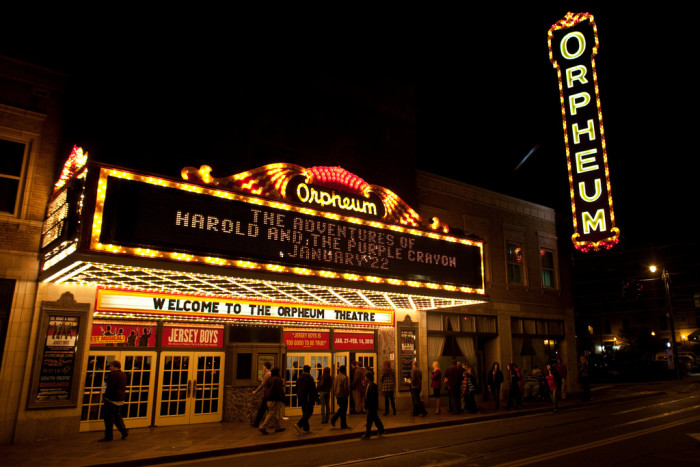 10) The Orpheum Theater is said to be haunted...there's quite a story, here.
