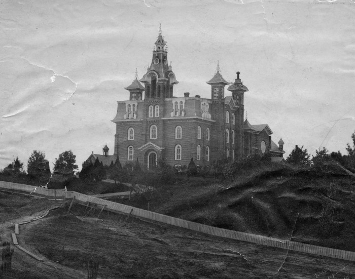 10.Southeast Missouri State University Old Normal, 1898.