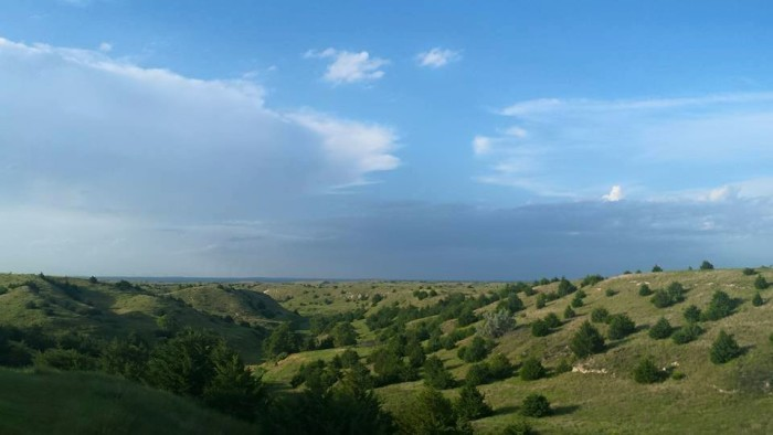 3. A stunning panorama near North Platte, submitted by Vic Ivanovych.