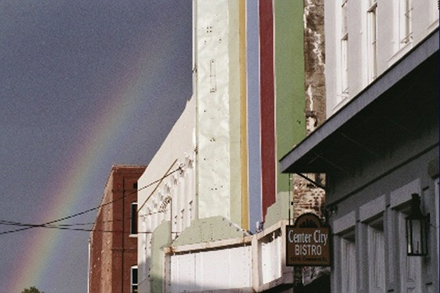 10. A Natchez rainbow coordinates perfectly with its equally-as-colorful surroundings.