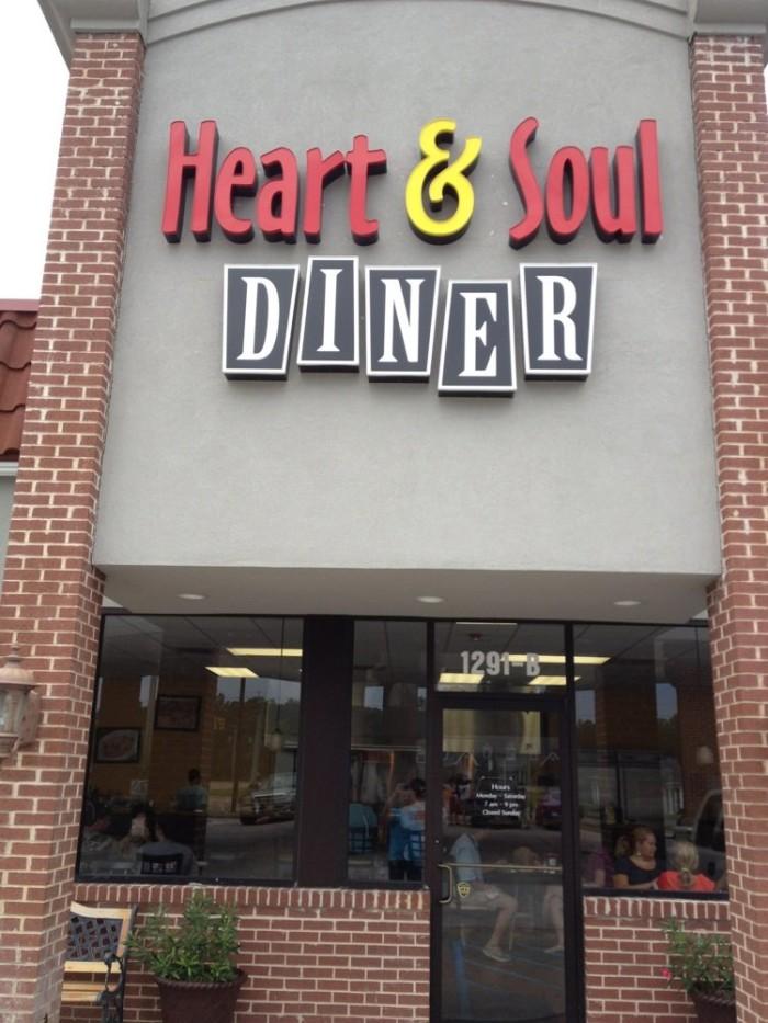 10. Heart and Soul Diner, Brandon