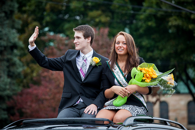 7. You weren't surprised when people who dated in high school got married a few years later.