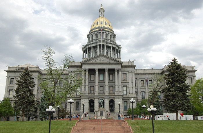 8. The 200 ounces of gold that adorns the Colorado State Capital was originally donated by miners in the late 1800s.