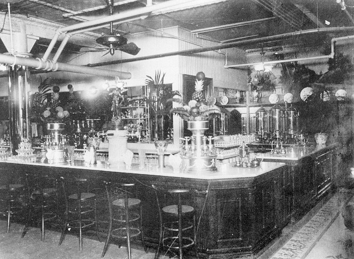 Here is a picture of the soda fountain at Hess Brothers. It was taken in 1913, the year it opened!