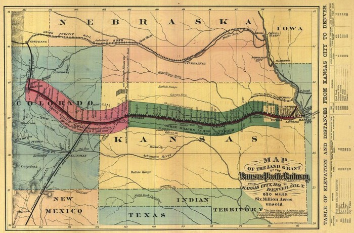 4. In 1870, the Kansas Pacific Railway laid 10 miles of rail in Colorado, the longest segment of track ever built in one day.
