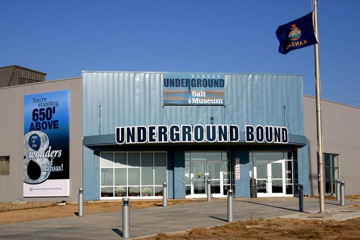 10. Kansas Underground Salt Museum: Strataca (Hutchinson)