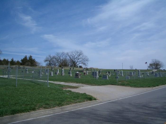 1. Stull Cemetery (Stull)
