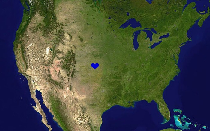 12. Finally, we are located right in the heartland of America and should therefore be America's team!