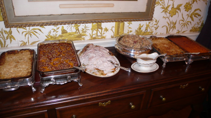 10. I can't wait for holiday gatherings and the good food that comes along with them.