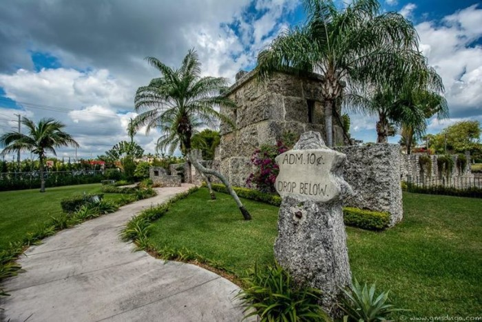 Marty Fletcher also sent us this awesome photo of our beloved Coral Castle in Homestead