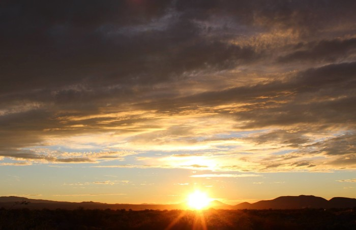 10. Here is what Thursday's sunset looked like in Tucson. If circumstance ever forced me to move, those wide open skies are what I would miss most.
