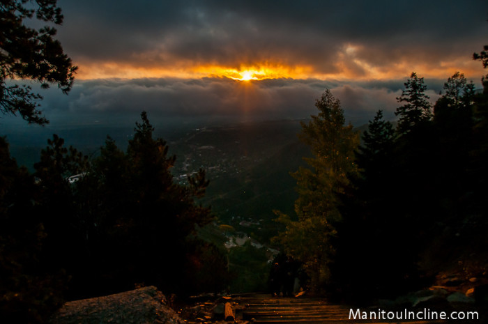 15. Good night from the Manitou Incline!
