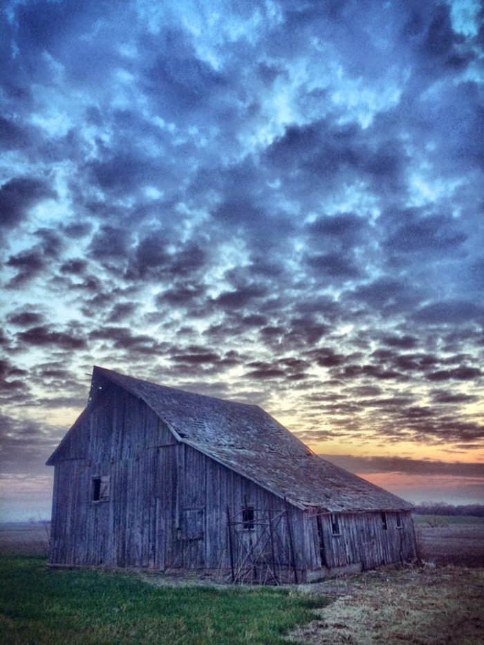 6. Bob Brammeier snapped this gorgeous barn against a cloudy sky near Sterling.