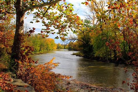 14. View of the Sandusky River from River Road in Tiffin, OH
