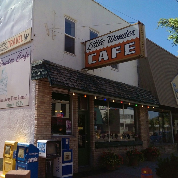 6. Little Wonder Cafe, Richfield