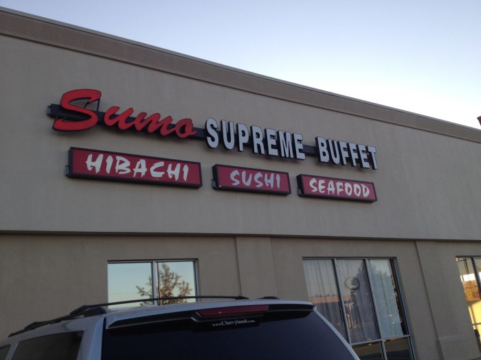 9) Sumo Supreme Buffet, Shreveport