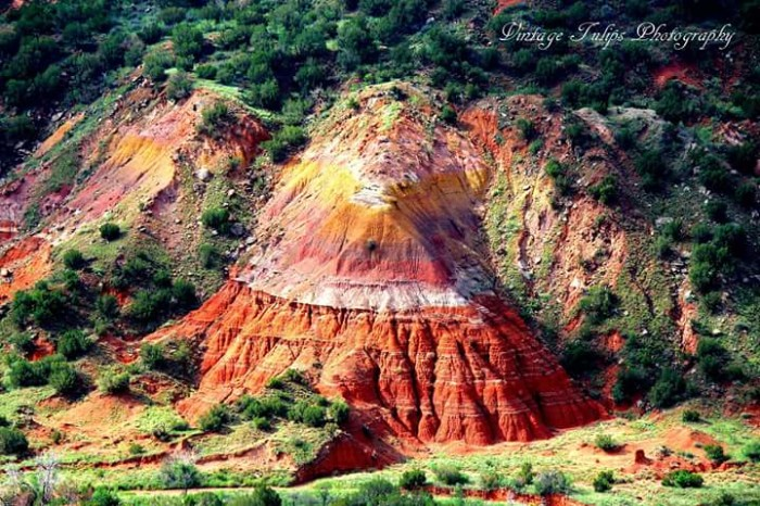 11) It's hard to believe this kind of beauty exists right here in Texas...an amazing shot of the Palo Duro Canyon by Vintage Tulips Photography.