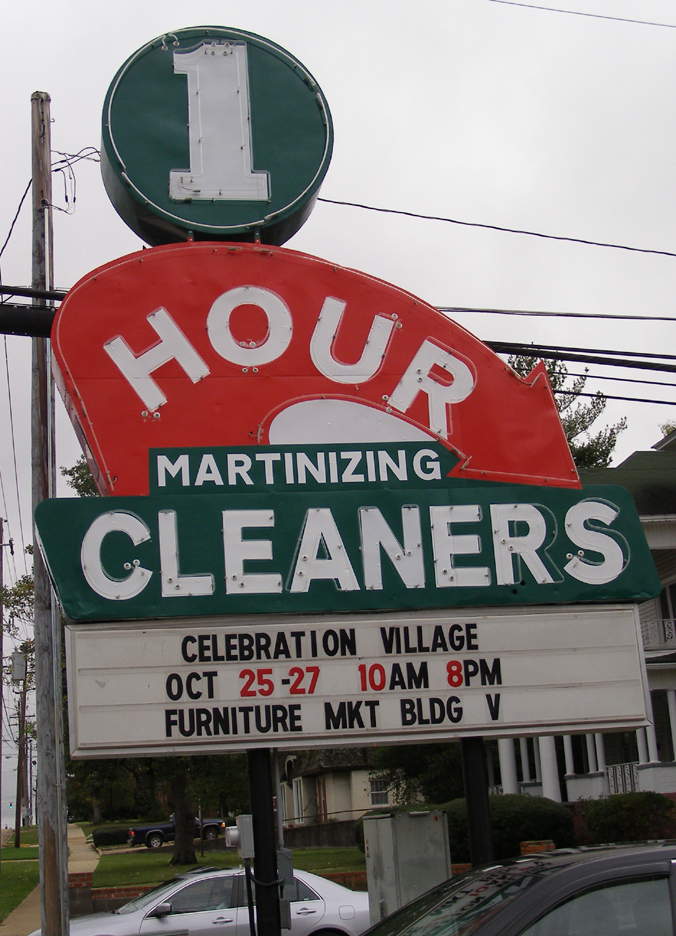 10. 1 Hour Martinizing Cleaners, Tupelo