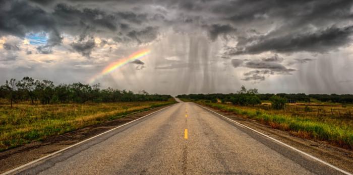 "7) ""Rainbow Road."""