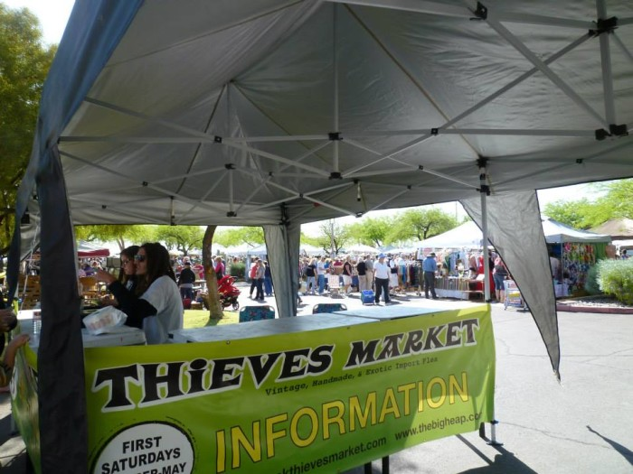 6. Thieves Flea Market, Tempe