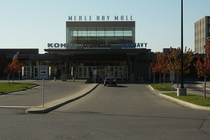 10. The ghosts of Merle Hay Mall