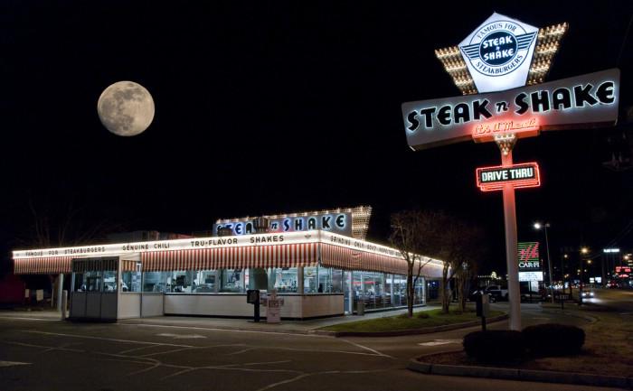 11. Steak N Shake, Springfield