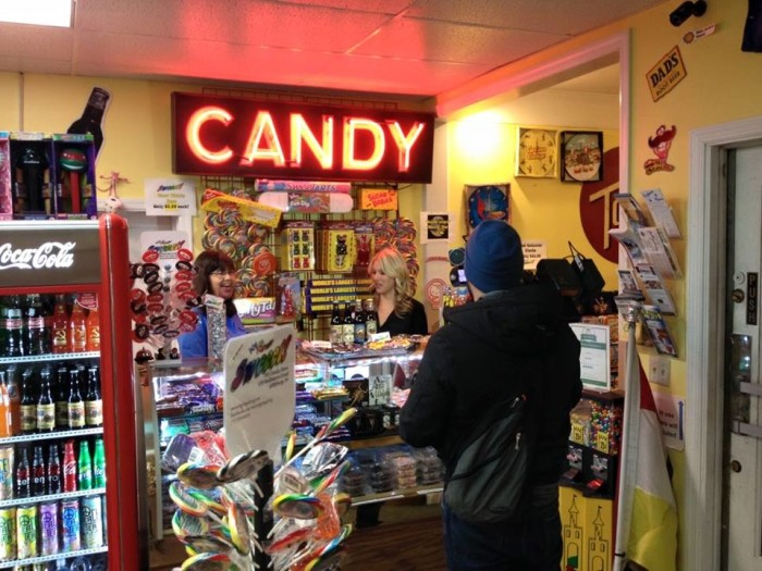 4. Sweeet! The Candy Shop in Gettysburg, PA
