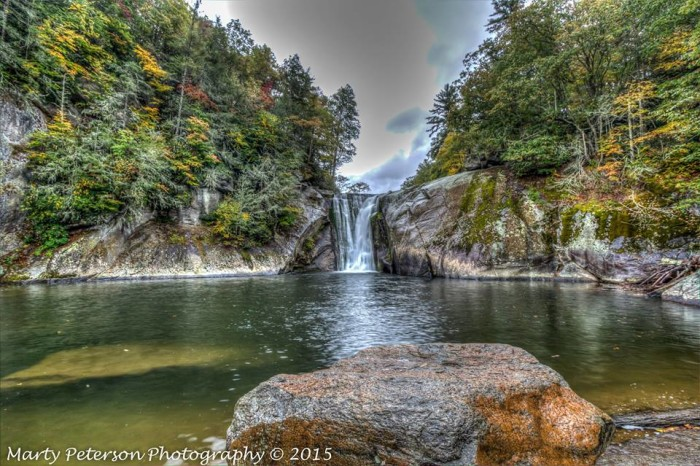 """3. """"Elk River Falls"""" captured by Marty Peterson."""