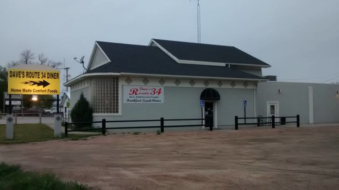 3. Dave's Route 34 All American Diner (Fort Morgan)