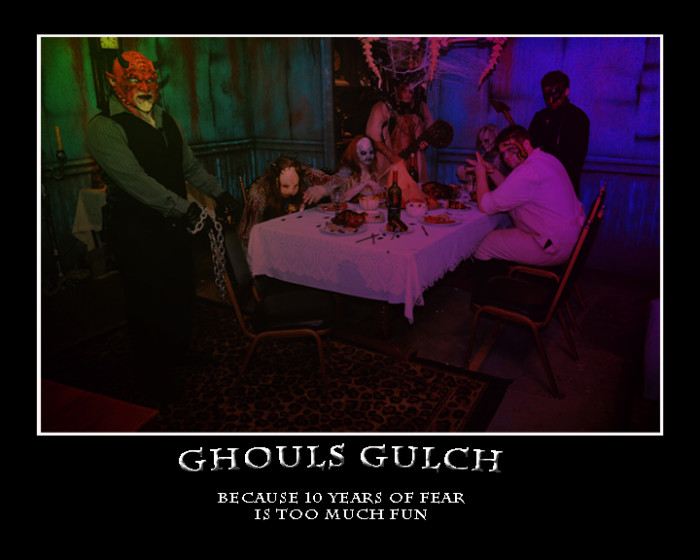 2. Ghouls Gulch Haunted House (Colorado Springs)