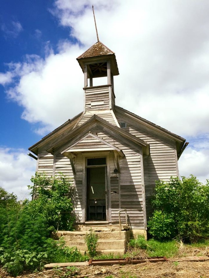 14. This abandoned schoolhouse near Tekamah was captured in all its dilapidated glory by Adam Westby.