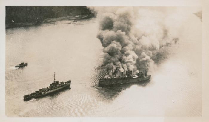 8) S.S. Prince George burns in Ketchikan