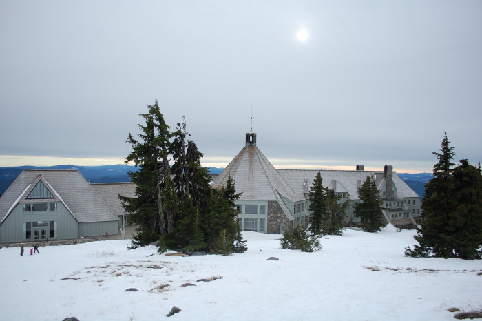 6) Enjoy some time away at Timberline Lodge on Mt. Hood.