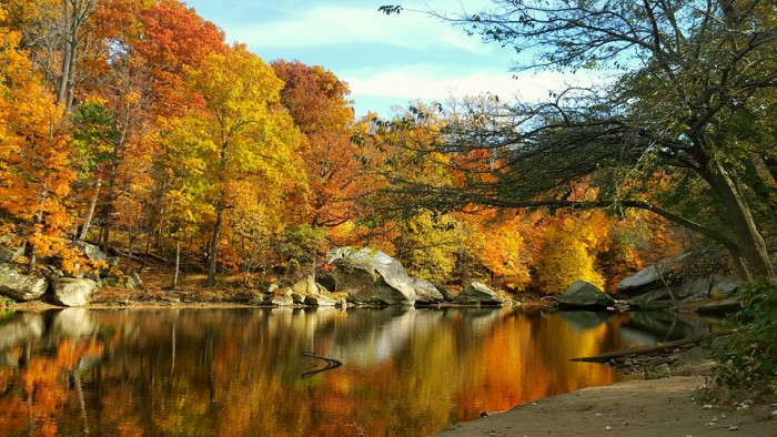14. Fall day at Cascade Park in Elyria, OH