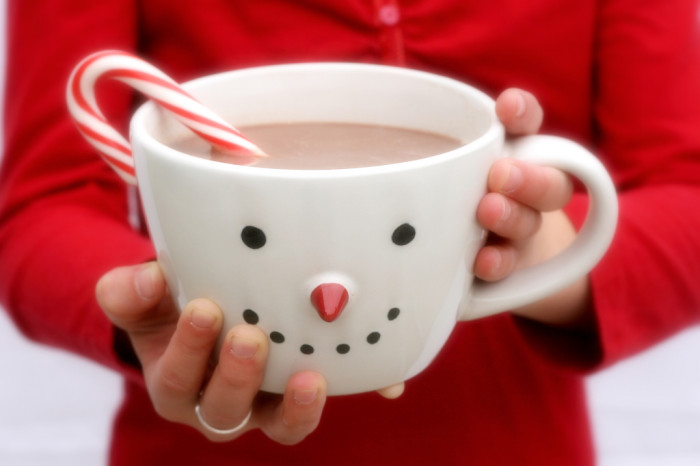 11. And then go home and warm up with some delicious hot cocoa.