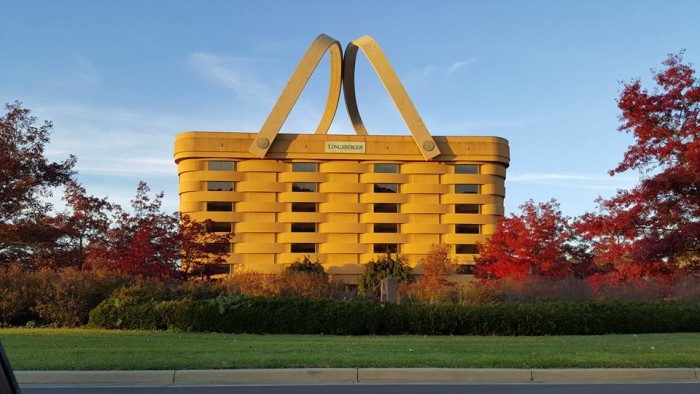 18. Fall day at The Longaberger Company in Newark, OH