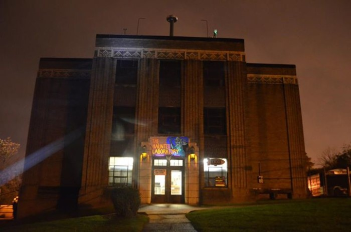 9. Akron Haunted School House and Laboratory