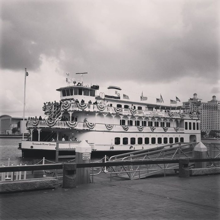 6. River St. Savannah GA by C. Lynn Ashby