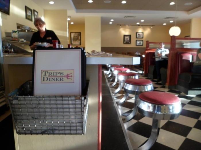12. Trip's Diner, St. Petersburg and Seminole